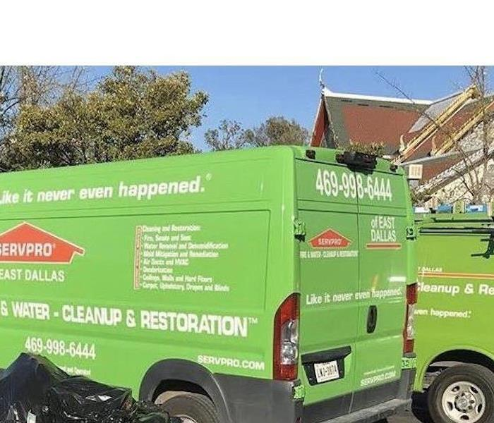Servpro responds to storm