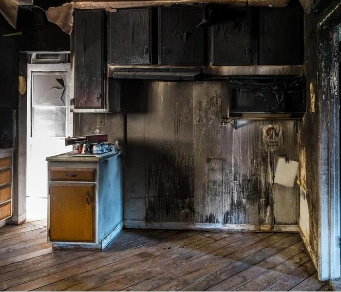SERVPRO helps fire damage repair